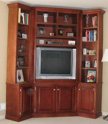 Maple wall unit